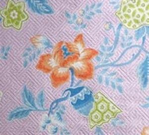 upholstery fabric / floral pattern / cotton / linen