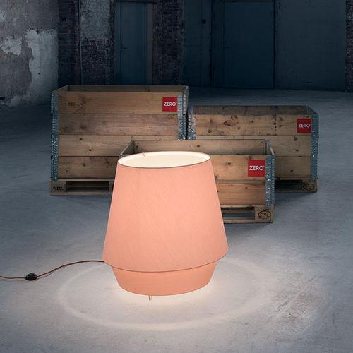 floor lamp / contemporary / fabric / acrylic