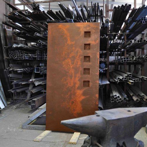 electric radiator / steel / contemporary / square