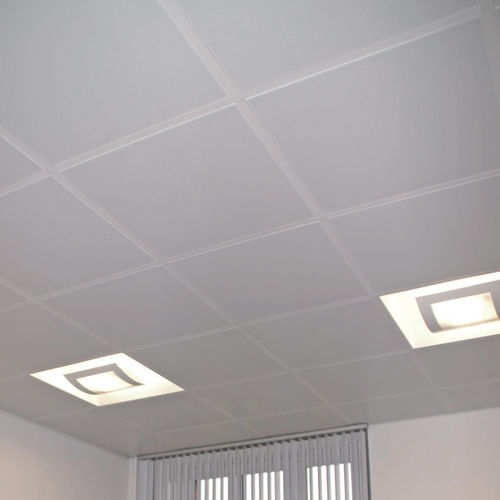 galvanized steel suspended ceiling / tile / acoustic / perforated