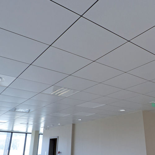 metal suspended ceiling / tile / acoustic / perforated