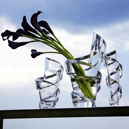 Original Design Vase Spirale Baccarat Crystal