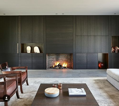 gas fireplace / traditional / open hearth / built-in