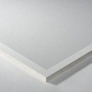 mineral wool suspended ceiling / metal / tile / acoustic