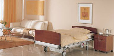 medical bed / contemporary / wooden