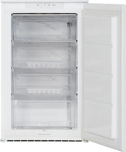 compact freezer / white / built-in / energy-saving