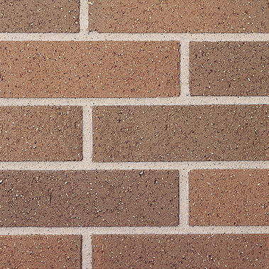 clay cladding brick / for facade / smooth / brown