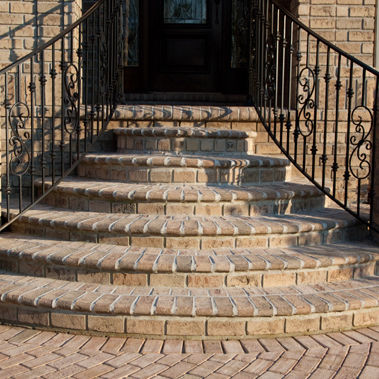 terracotta paver / anti-slip / textured / for public spaces
