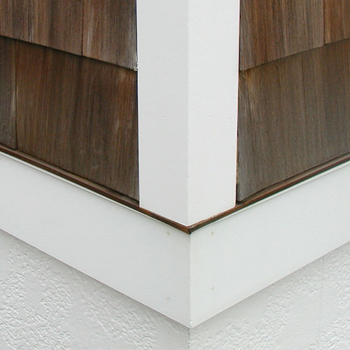 PVC molding / corner / for outdoor use