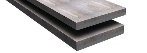 composite floor / concrete / prestressed slab