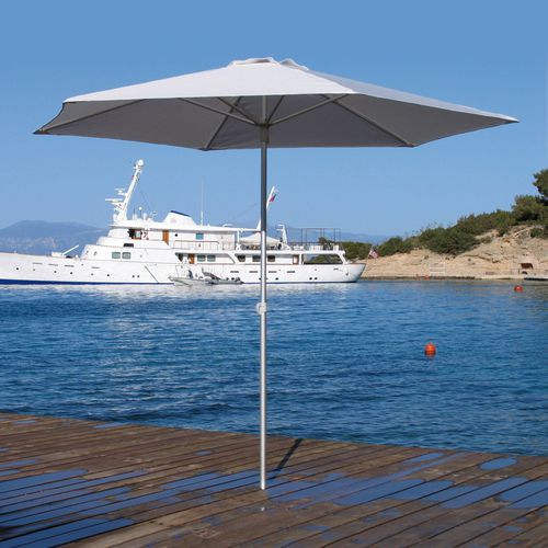 commercial patio umbrella / aluminum / polyolefin