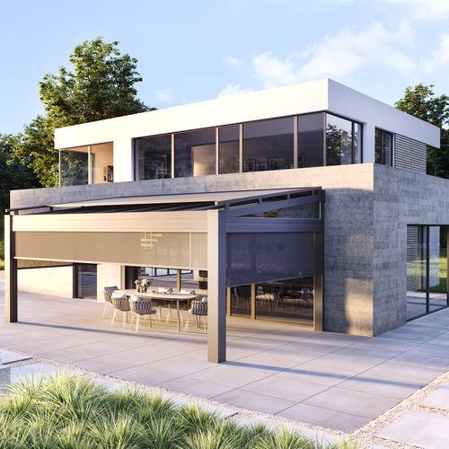 aluminium roof system