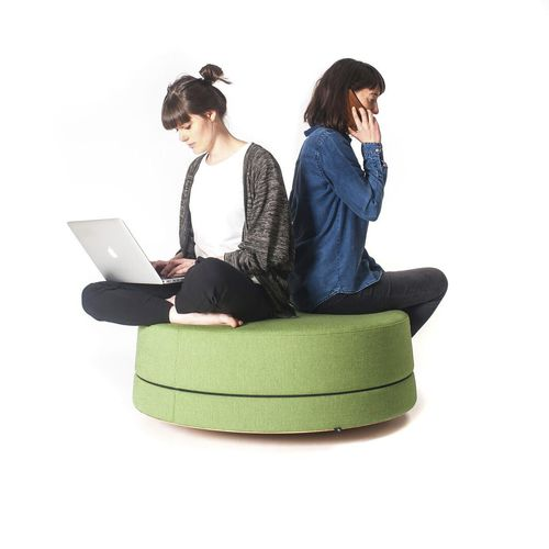 contemporary pouf - BuzziSpace
