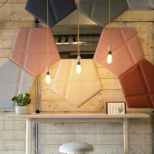 wall-mounted acoustic panel - BuzziSpace