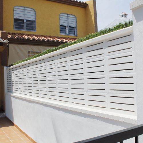 precast concrete screen wall