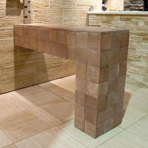 engineered stone wall cladding panel - Verniprens