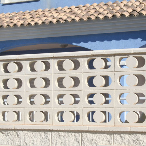 precast concrete screen wall / garden / patio