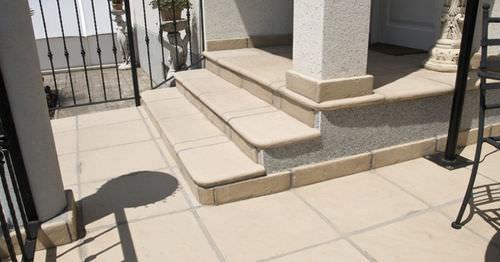 concrete baseboard