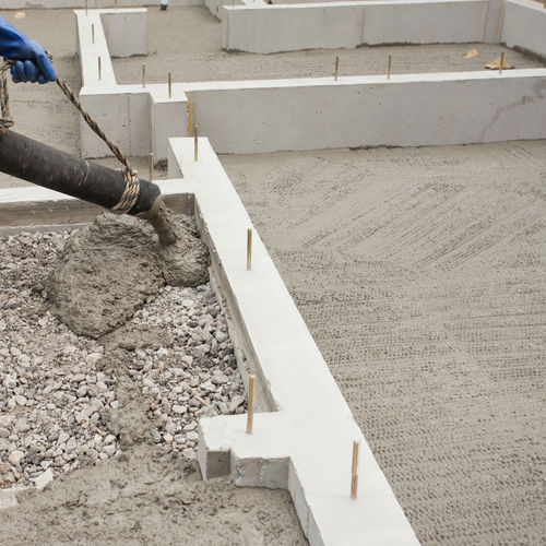 aggregate concrete / high-resistance / high-performance / for flooring