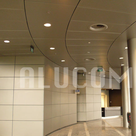 aluminum decorative panel / composite / for ceilings / wall-mounted