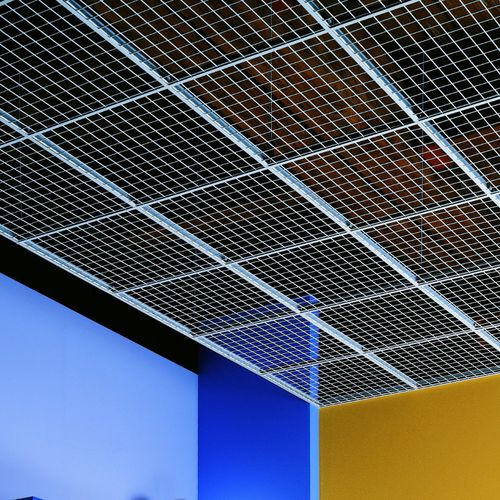 metal suspended ceiling / panel / acoustic / wire