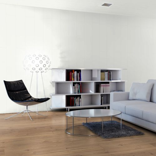 wooden laminate flooring / click-fit / wood look / home