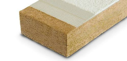 thermal insulation / wood fiber / wall / for exterior insulation finishing systems