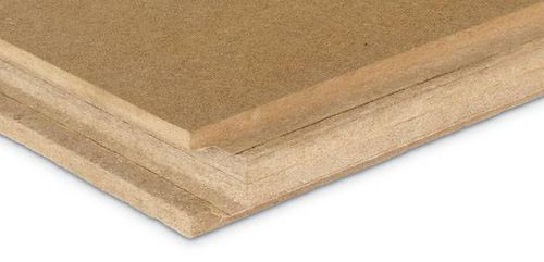 thermal-acoustic insulation / wood fiber / for roofs / for facades