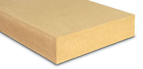 thermal insulation / wood fiber / wall / for roofs