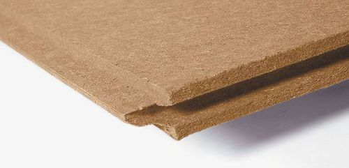 thermal-acoustic insulation / wood fiber / for roofs / wall