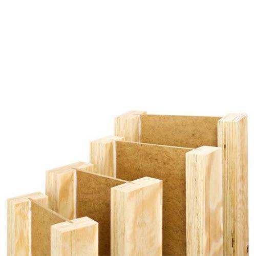 I beam / load-bearing / in wood fiber / laminated veneer lumber