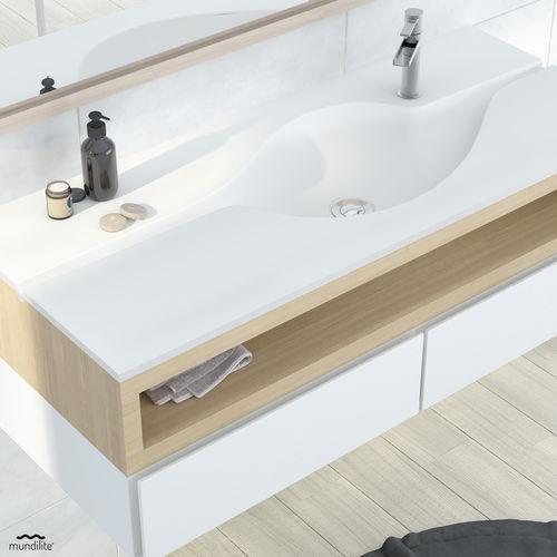 flush-mounted washbasin - Mundilite