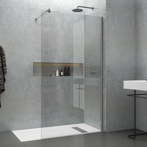 fixed shower screen - Mundilite
