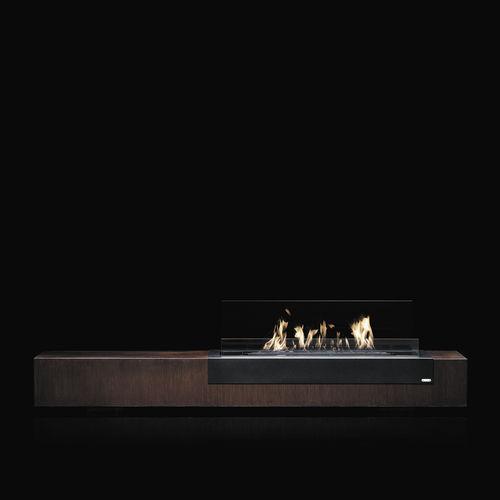 rectangular bioethanol burner - Glammfire