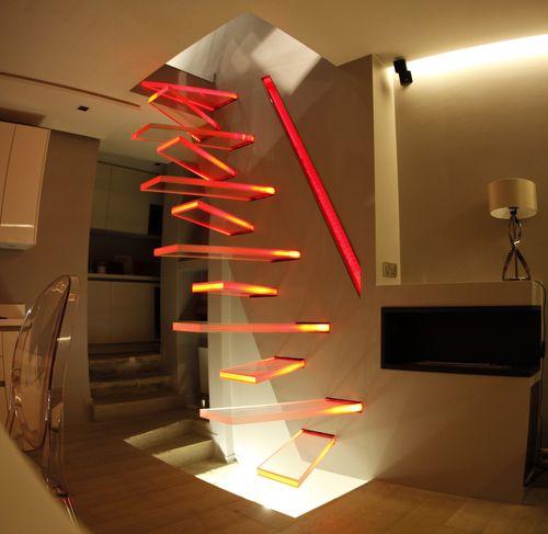 straight staircase - Trescalini