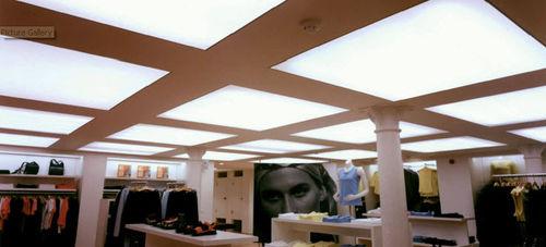 backlit ceiling LED panel / for sky ceilings / dimmable / modular