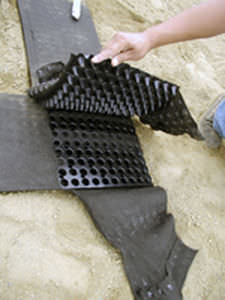Non-woven geotextile / fabric / for filtration - GEOVENT