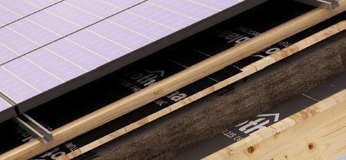 roof waterproofing membrane / roll / bituminous