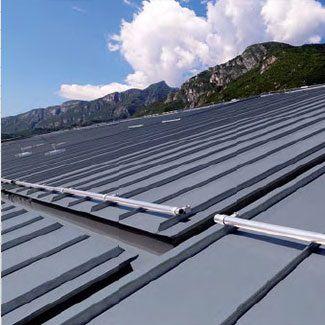 zinc-titanium roofing - ZINTEK