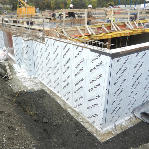 protection waterproofing membrane / for walls / for flooring / for balconies