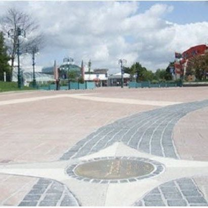 engineered stone paver