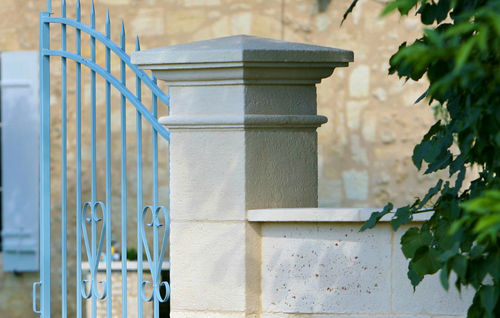 engineered stone engineered stone pillar for fence