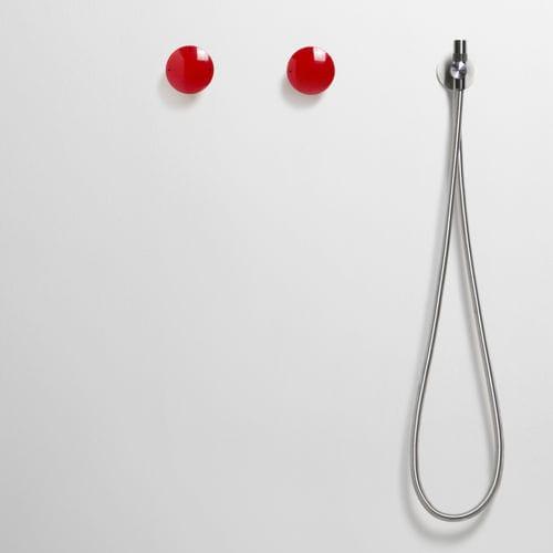 double-handle shower mixer tap