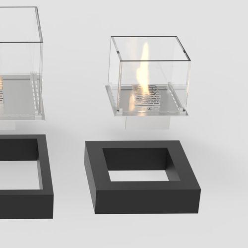 square bioethanol burner