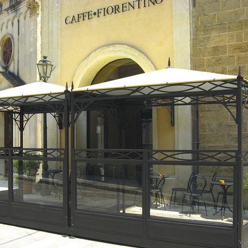 galvanized steel gazebo