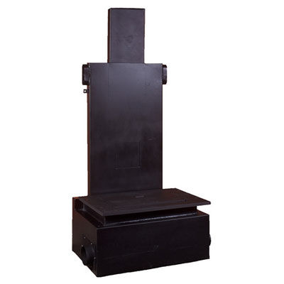 open wood hearth / 3-sided / metal / for fireplaces