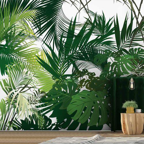 original design wallpaper / floral / nature pattern / panoramic