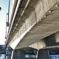 beam bridge / arch / steel / prestressed concrete