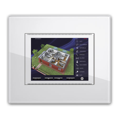 building automation system touch screen