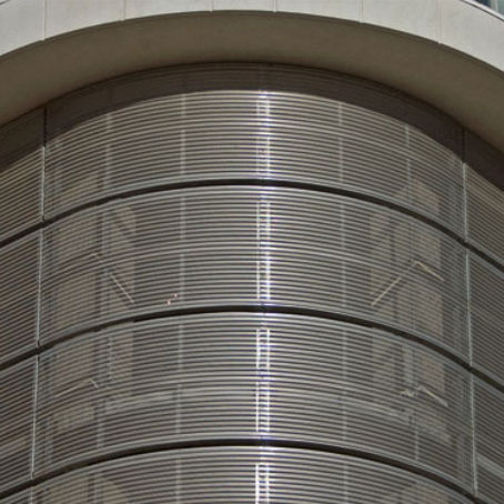 aluminum cladding / perforated / panel